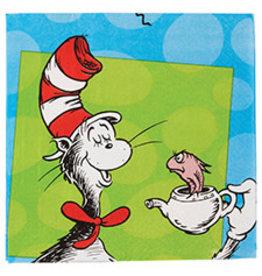 Amscan Dr. Seuss Lun. Napkins - 16c.t