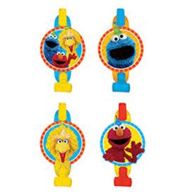 Amscan Sesame Street 2 Blowouts - 8ct.