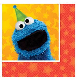 Amscan Sesame Street 2 Bev. Napkins - 16ct.