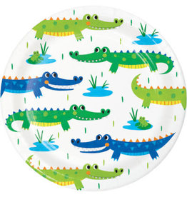 "creative converting Alligator Party 7"" Plate - 8ct."
