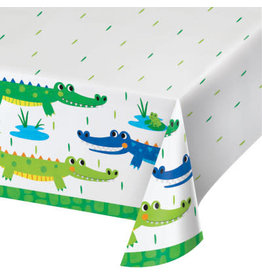 "creative converting Alligator Party Tablecover  54"" x 102"""