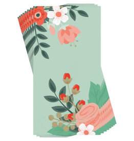 creative converting Modern Floral Mint Guest Towels - 16ct.