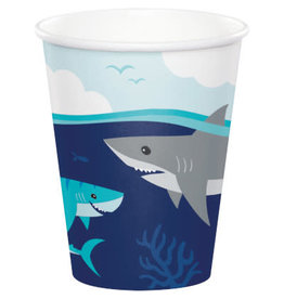 creative converting Shark Party 9oz Cups - 8ct.