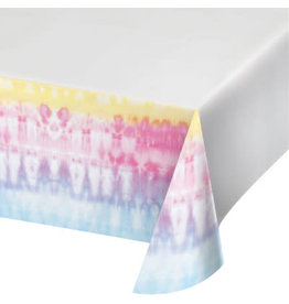 """creative converting Tie Dye Party Tablecover 54"""" x 102"""""""