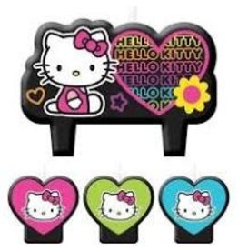 Amscan Hello Kitty Candle Set - 4ct.