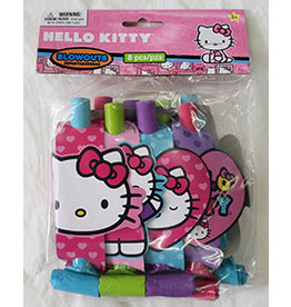Amscan Hello Kitty Blowouts - 8ct.