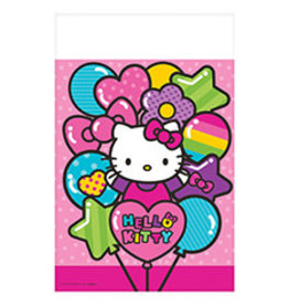 """Amscan Hello Kitty Rainbow Tablecover 54"""" x 102"""""""