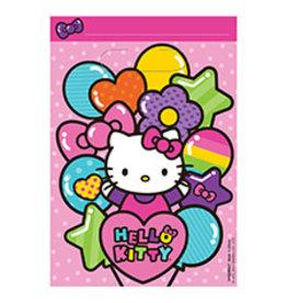 Amscan Hello Kitty Rainbow Loot Bag - 8ct.