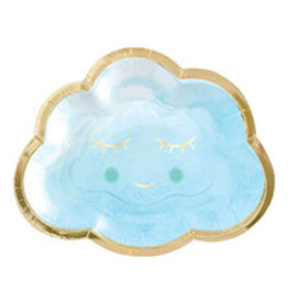 """Amscan Oh Baby Boy 7"""" Plates - 8ct."""