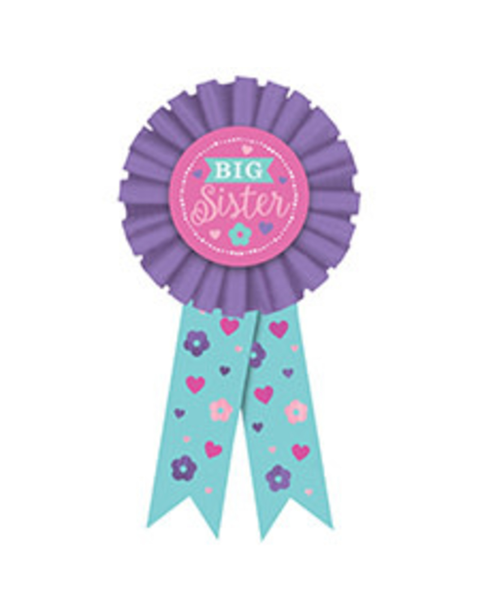 Amscan Big Sister Award Ribbon - 1ct.