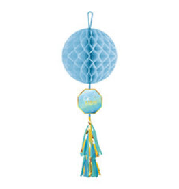 Amscan Oh Baby Boy Honeycomb Decor - 1ct.