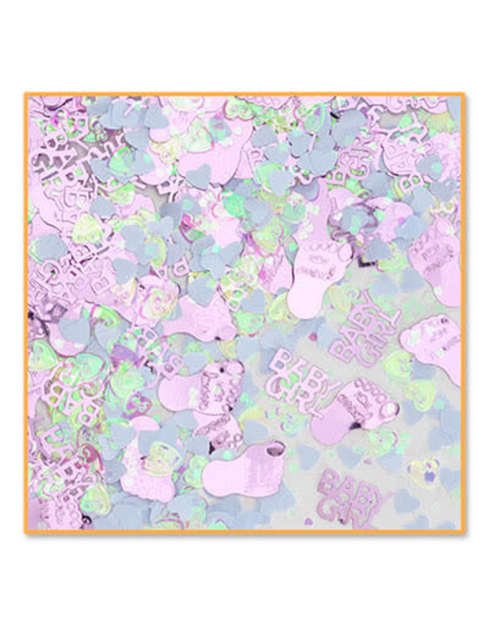 Beistle Baby Girl Confetti