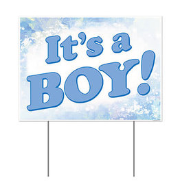 Beistle Its A Boy Yard Sign - 1ct.
