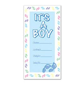 Beistle It's A Boy Door Cover Customizable