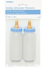 unique Blue Baby Bottle Favors - 2ct.