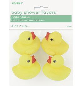 unique Rubber Duck Shower Favors - 4ct.