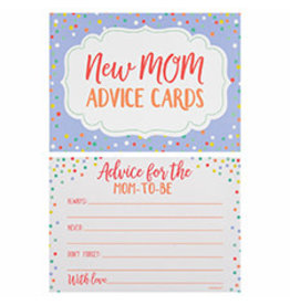 Amscan Mom-To-Be Advice Cards - 24ct.