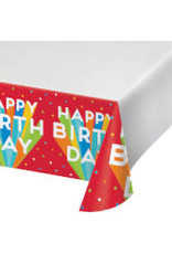 "creative converting Big Birthday Bash Tablecover 48"" x 88"""