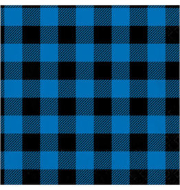 creative converting Blue & Black Buffalo Plaid Lun. Napkins - 16ct.