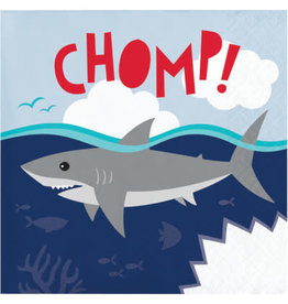 creative converting Shark Party Bev. Napkins - 16ct.