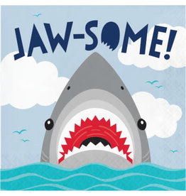 creative converting Shark Party Lunch Napkins - 16ct.