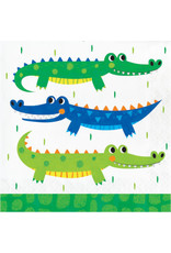 creative converting Alligator Party Lun. Napkins - 16ct.