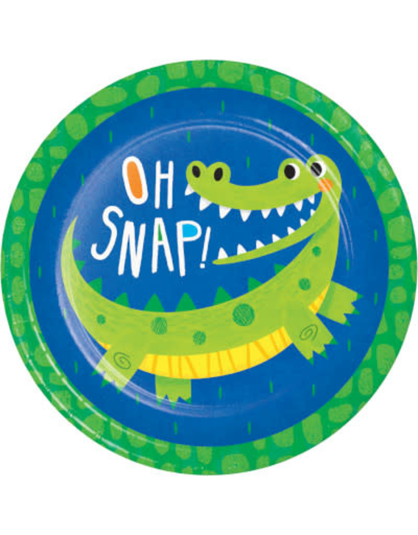 "creative converting Alligator Party 9"" Plates - 16ct."