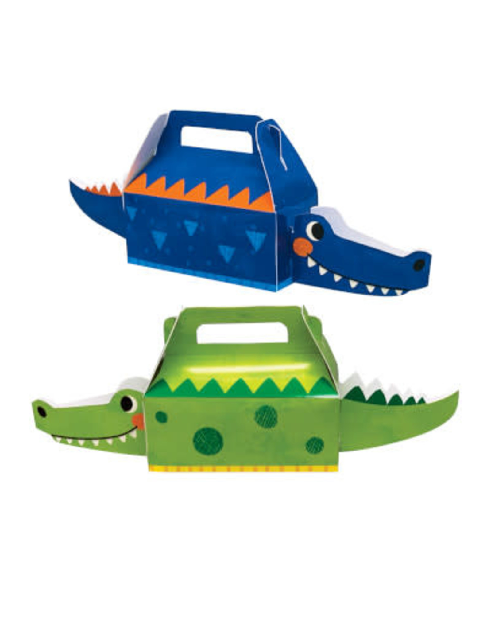 creative converting Alligator Party Treat Boxes - 4ct.