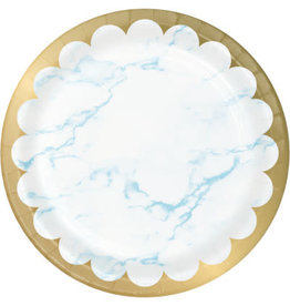 """creative converting Blue Marble 9"""" Plates - 8ct."""