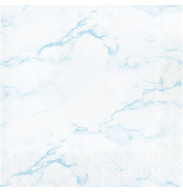 creative converting Blue Marble Lun. Napkins - 16ct.