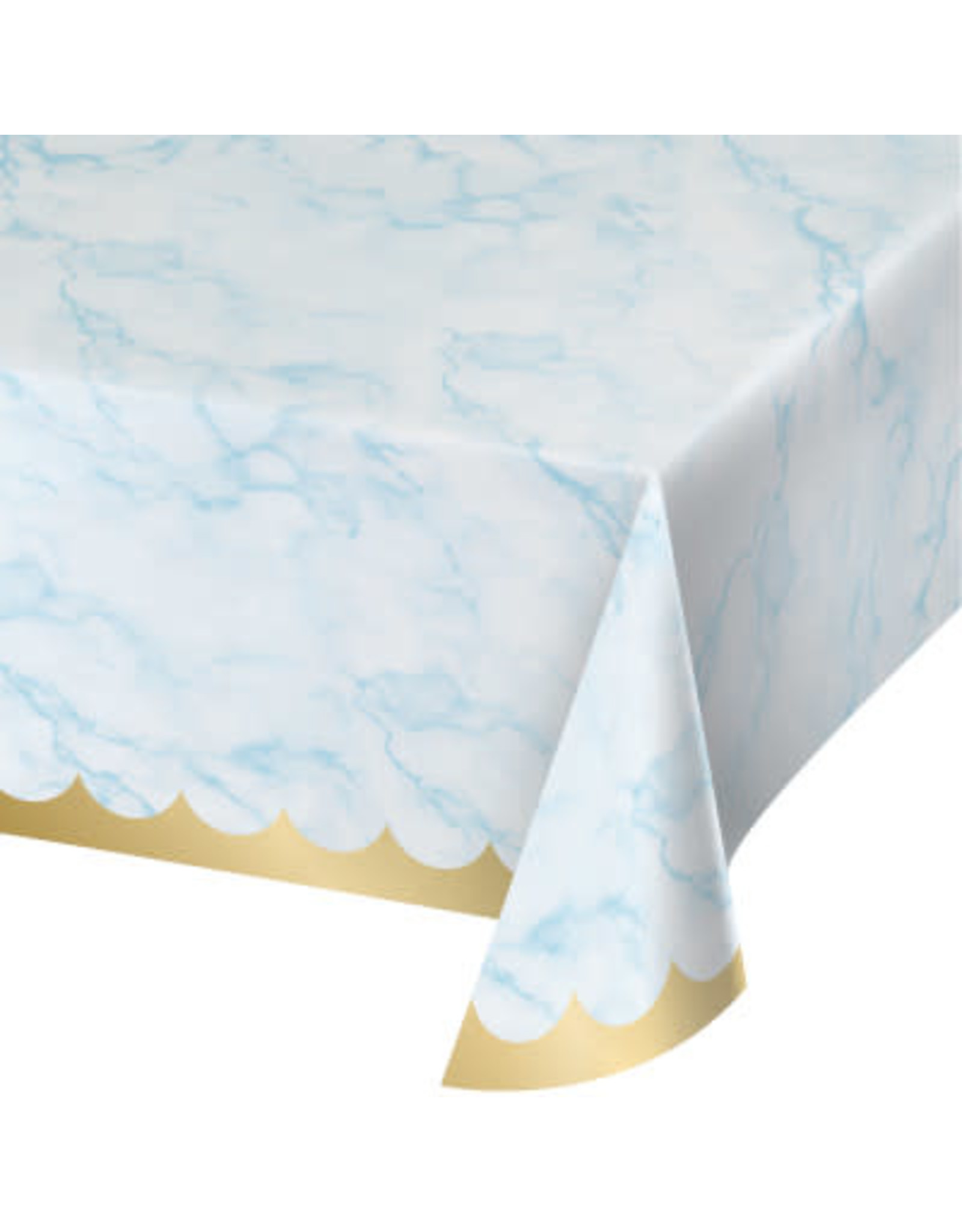 """creative converting Blue Marble Tablecover 54"""" x 102"""""""