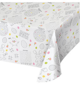 """creative converting Kids Easter Tablecover 54"""" x 88"""""""