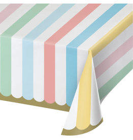 "PPART Pastel Celebrations Tablecover 54"" x 102"""
