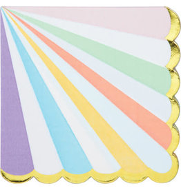 PPART Pastel Celebrations Lun. Napkins - 16ct.
