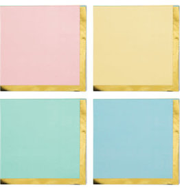 creative converting Pastel Celebrations Bev Napkins - 16ct.