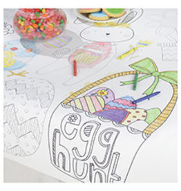 """Amscan Kids Coloring Easter Tablecover 36"""" x 48"""""""