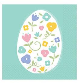 Amscan Pretty Pastel Easter Bev. Napkins - 16ct.