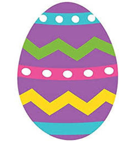 "Amscan Easter Egg 15"" Cutout - 1ct."
