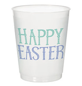 Amscan Happy Easter Frosted 14oz. Cups - 8ct.