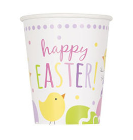 unique Cute Easter 9oz Cups - 8ct.