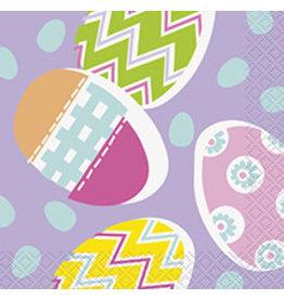 unique Lilac Easter Bev Napkin - 16ct.