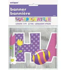 unique Happy Easter Foil Banner - 9ft.