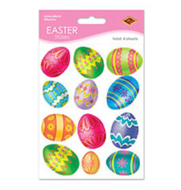 Beistle Easter Egg Stickers - 4ct.