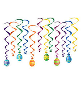 Beistle Easter Egg Whirls - 12ct.