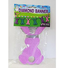 forum Glitter Bunny Banner - 7ft.