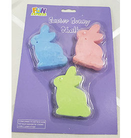 fun express Easter Bunny Chalk - 3ct.