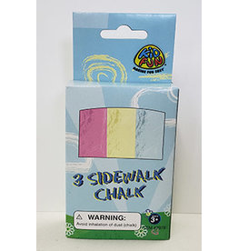 us toy Sidewalk Chalk - 3ct.