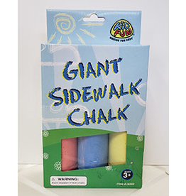 us toy Giant Sidewalk Chalk - 3ct.
