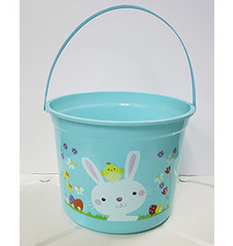 forum Blue Easter Bucket w/ Bunny - 1ct.