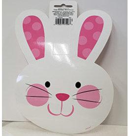 "Amscan Easter Bunny Head Cutout - 8"""
